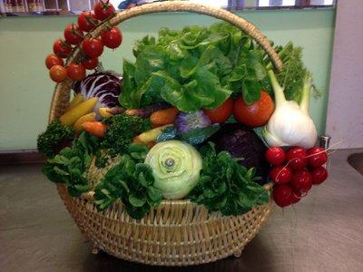 Gemüsekorb (Grösse nach Wahl)