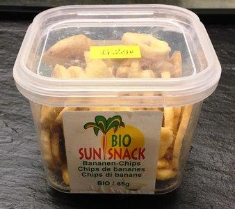 Bio Bananen-Chips (Box  65gr.)
